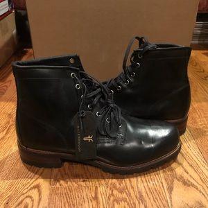 Frye men's black waterproof boots sz 12 new